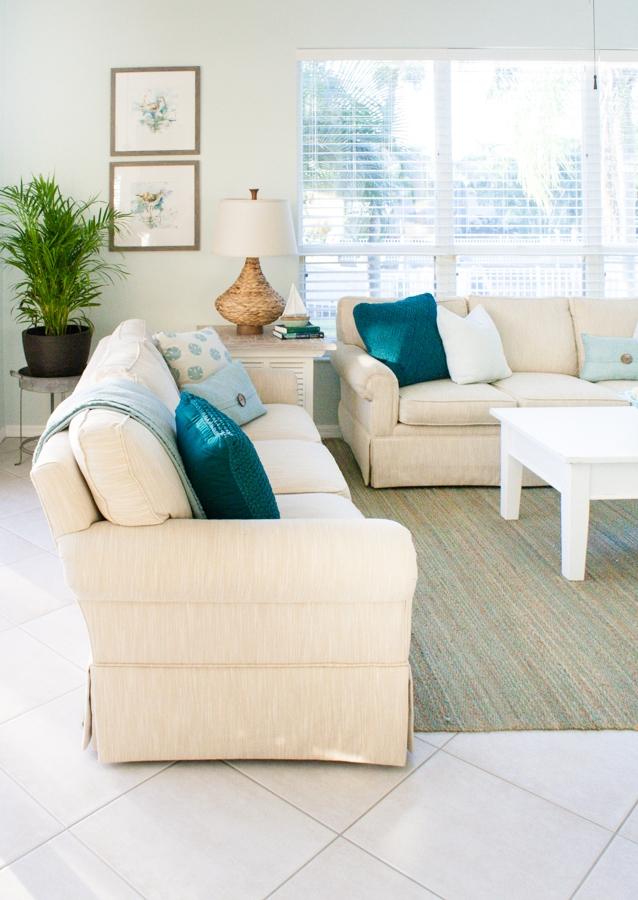 Coastal Decor Living Room