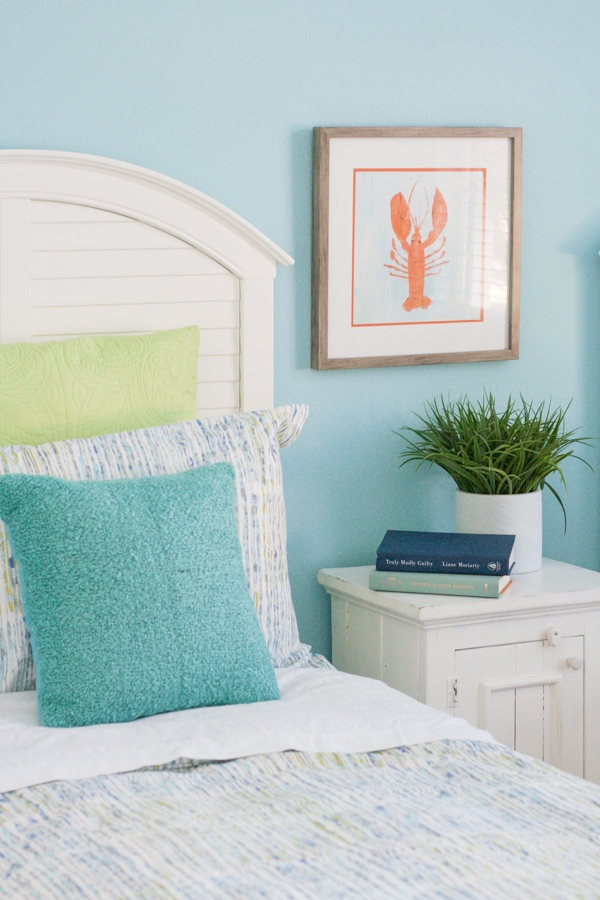 Coastal Kids Guest Room - The Lilypad Cottage