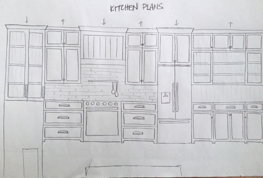 Lake House Kitchen Plans