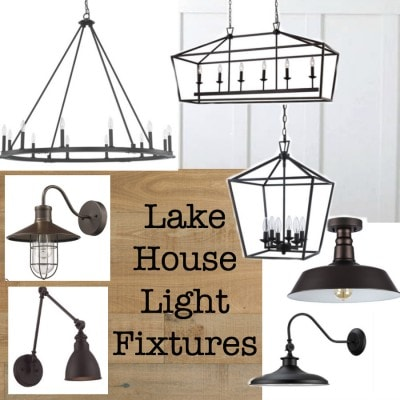 Lake House Light Fixtures
