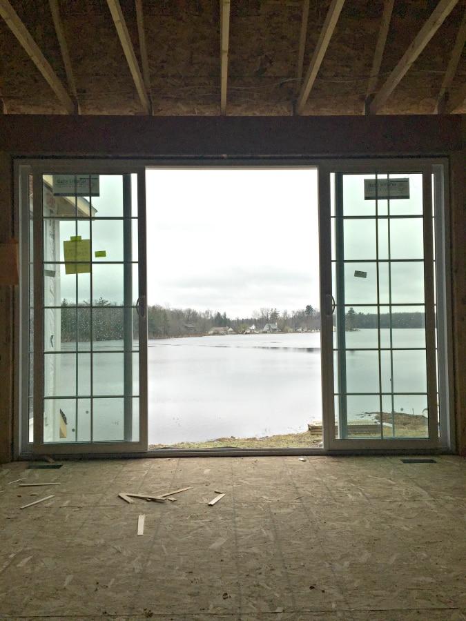 4 panel sliding doors
