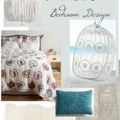 Tween Girl Boho Bedroom Design
