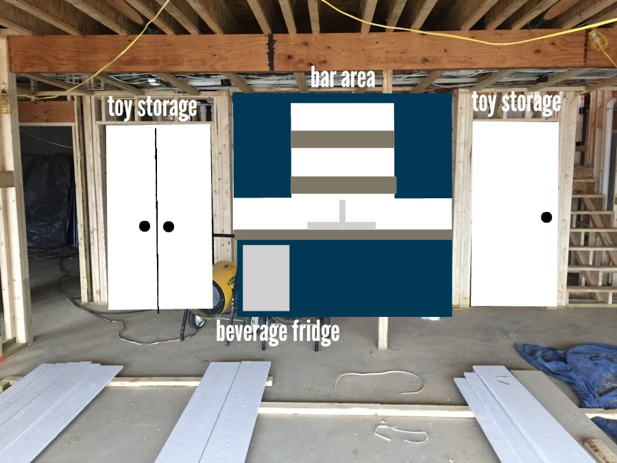 House Update Basement Plans The Lilypad Cottage