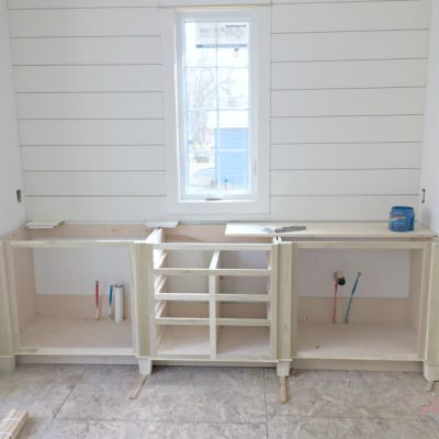 House Update – Trim, Cabinets and Ceilings