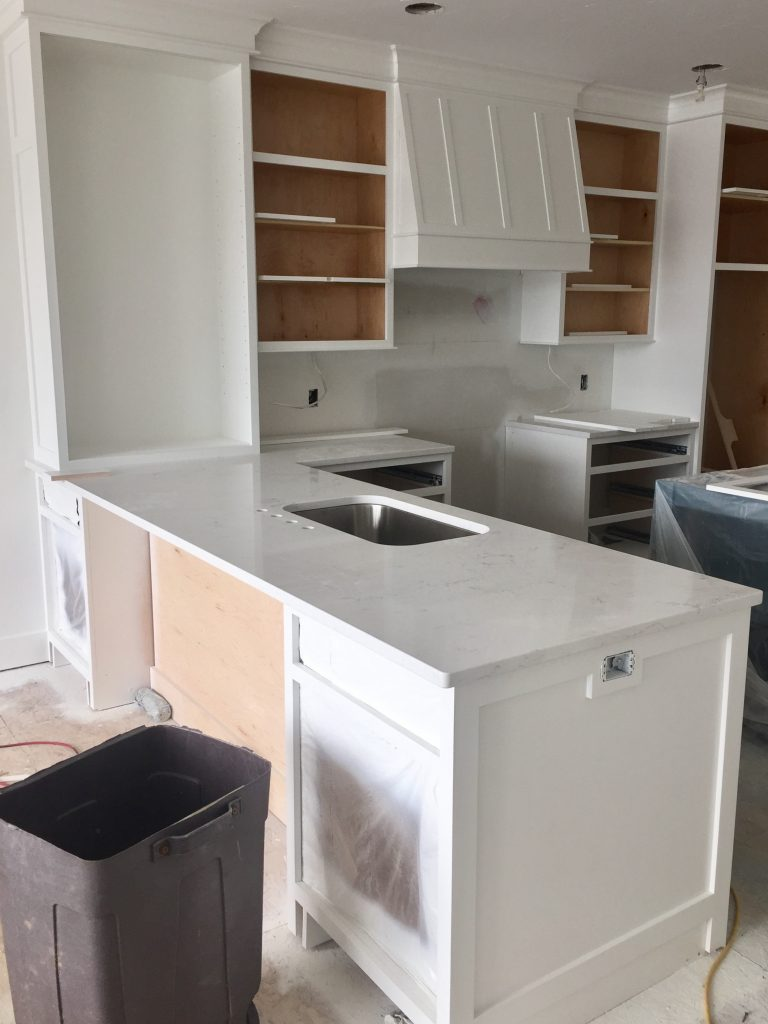Lovely I talked about my kitchen plans changing a little bit last week u it us not a huge change but I nixed all the butcher block counters