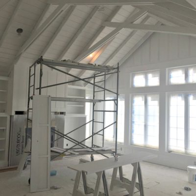 House Update – Kitchen Paint and Bathroom floors