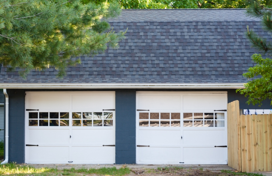 garage door makeover - Garage Door With Door