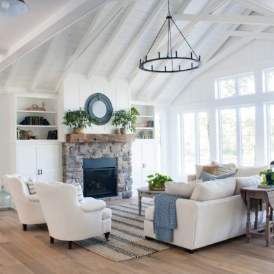 Lake House Living Room Decor