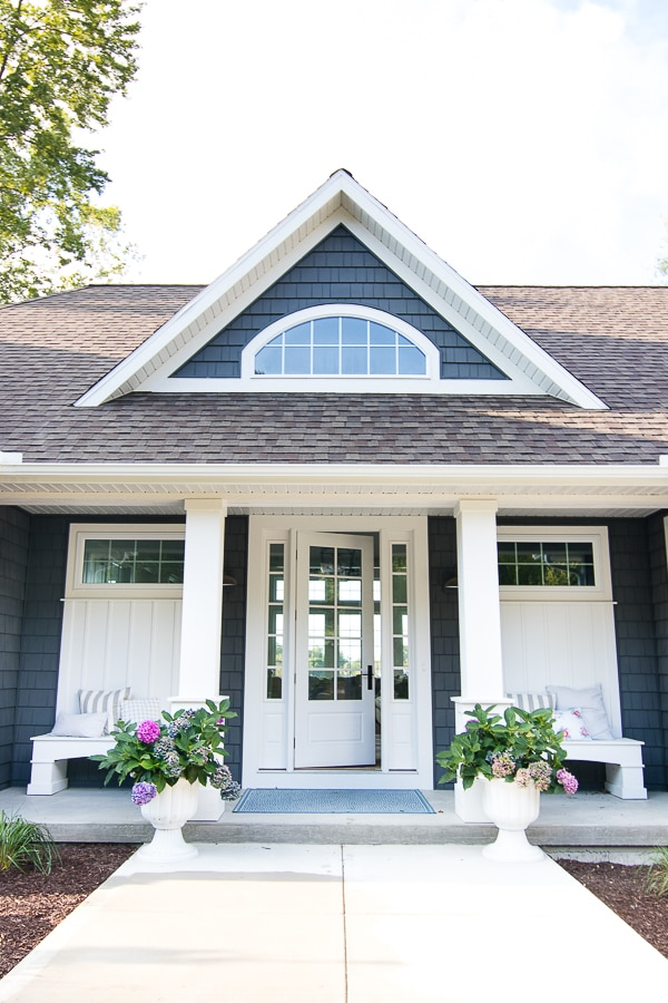Lake House Exterior - Street Side - The Lilypad Cottage on best house designs, 2016 house designs, 2015 house designs, lao house designs,