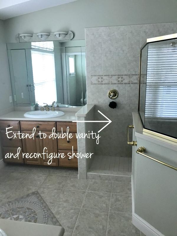 Coastal Master Bathroom Makeover The Lilypad Cottage