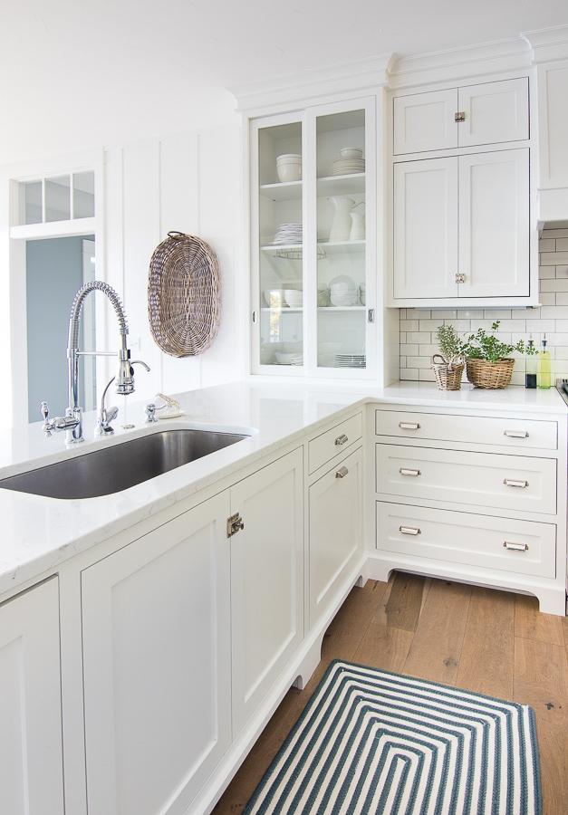 Lake House White Kitchen The Lilypad Cottage
