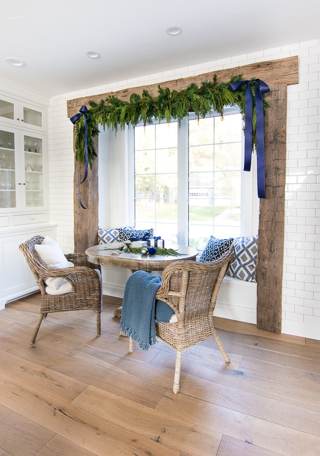 Breakfast Nook Christmas Decor The Lilypad Cottage