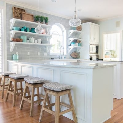 Coastal Kitchen Makeover