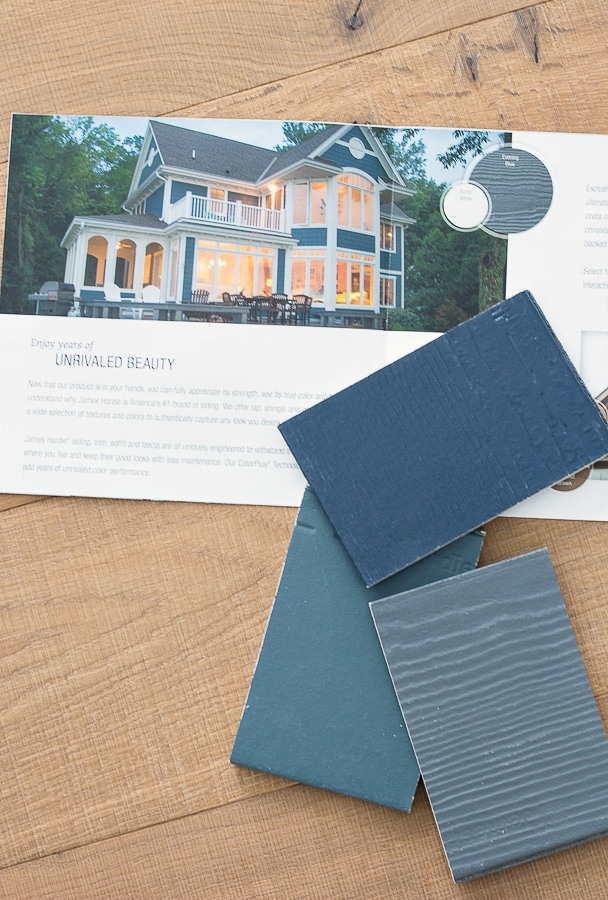 James Hardie Siding Samples