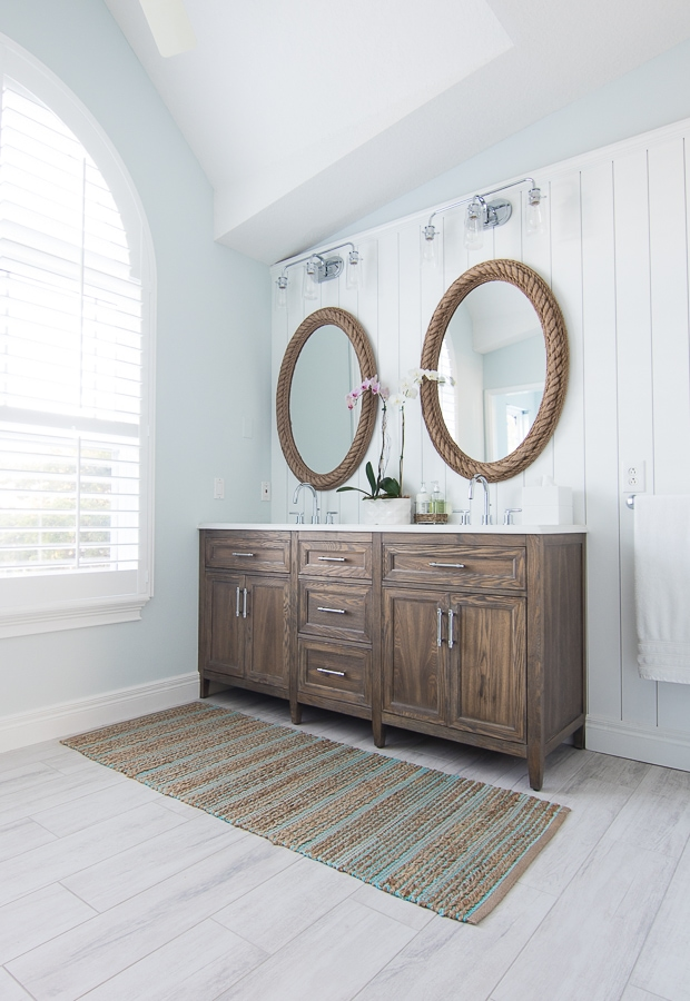 coastal master bathroom - Coastal Bathroom