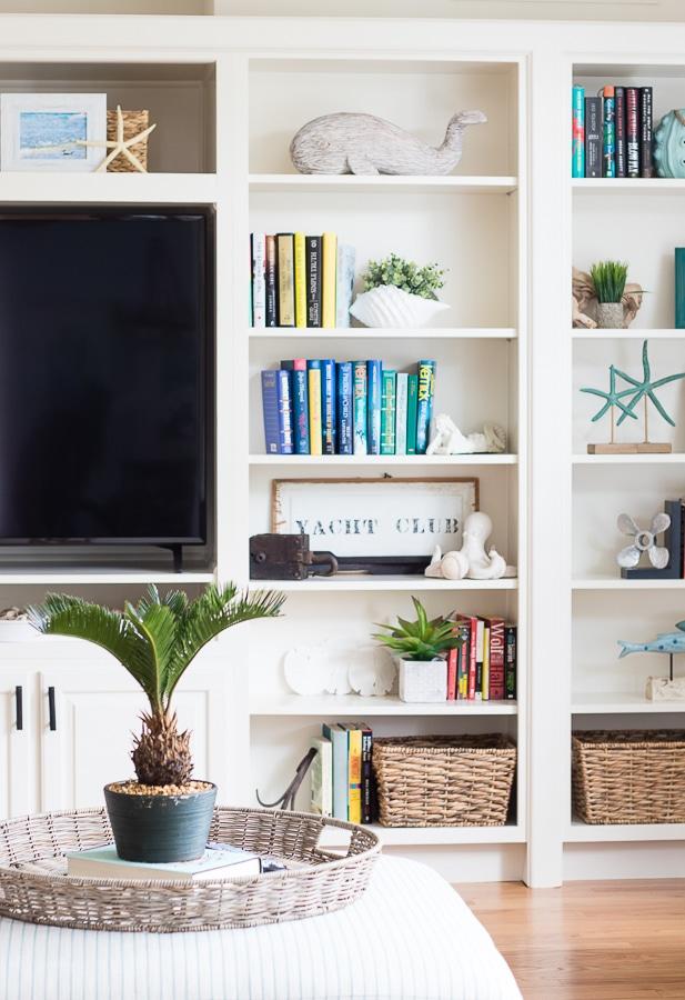 coastal living room makeover the lilypad cottage