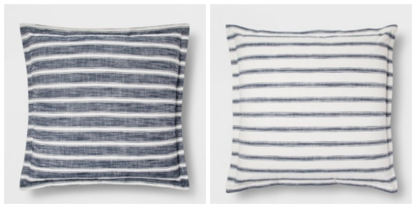 striped target pillows