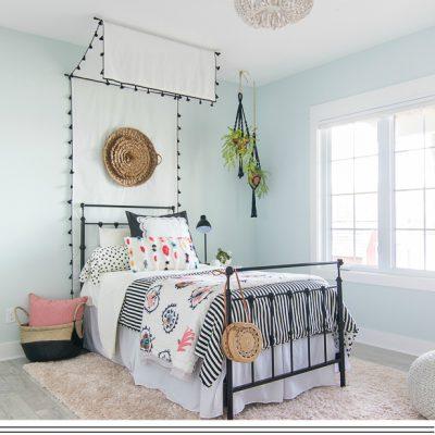DIY Bed Canopy Tutorial