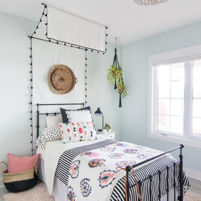 Tween Girl Beachy Boho Bedroom