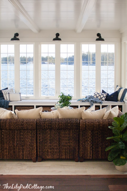 lake house sunroom