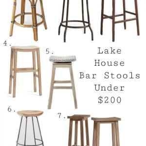 Best Lake House Bar Stools