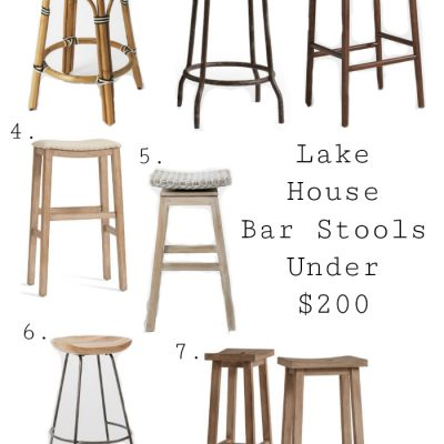 Best Lake House Bar Stools