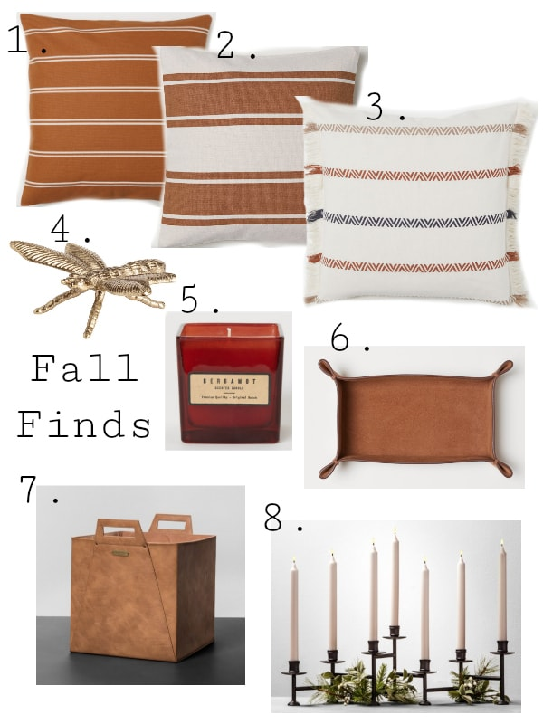 Fall Home Decor Finds