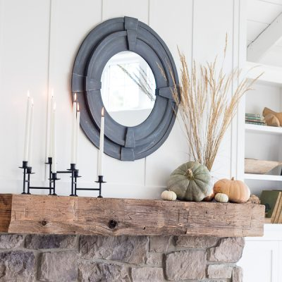 Fall Mantel Sneak Peek – Friday Feels