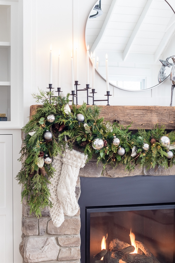 Silver and great Christmas home decor