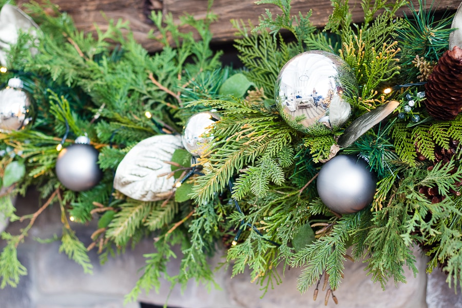 Christmas garland tips