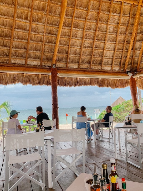 beach restaurant Beloved Resort Playa Mujeres