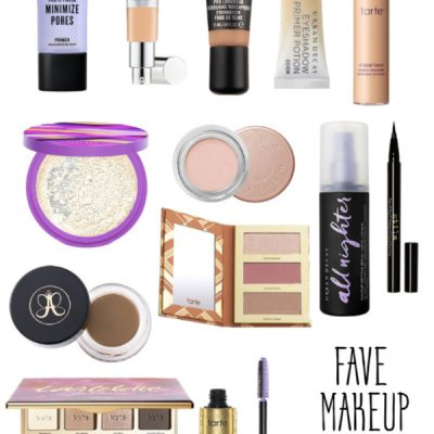Fave Must Have Makeup Products