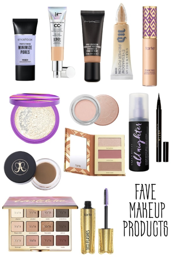 Fave must have daily makeup products
