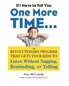 if i have to tell you one more time parenting book