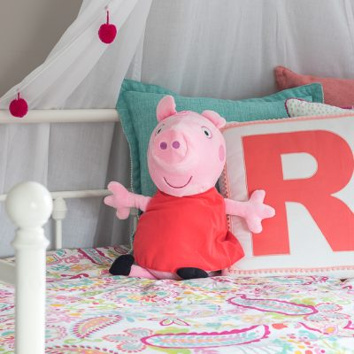Peppa Pig Toddler Girls Room