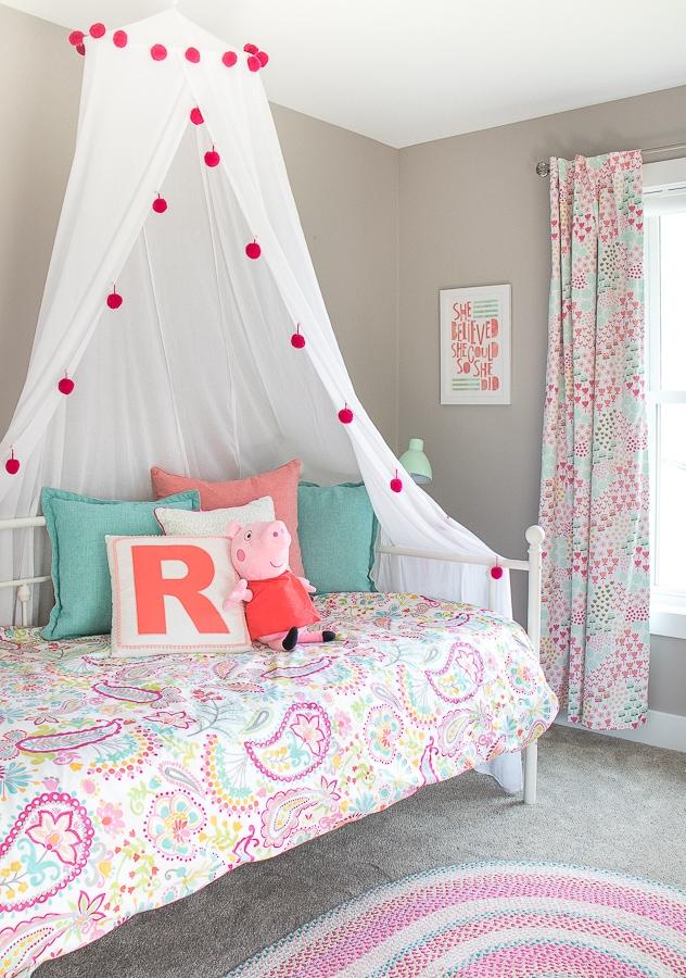 Fine Peppa Pig Toddler Girls Room The Lilypad Cottage Interior Design Ideas Tzicisoteloinfo