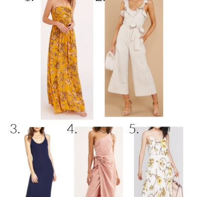 Summer Dresses and a Giveaway