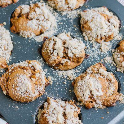 Easy Pumpkin Butterscotch Muffins