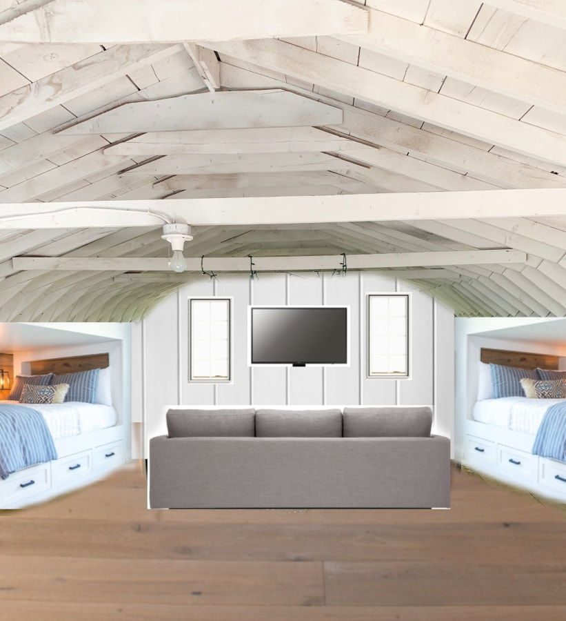 bunk room plans