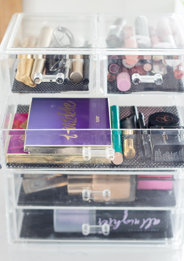 best clear makeup organizer