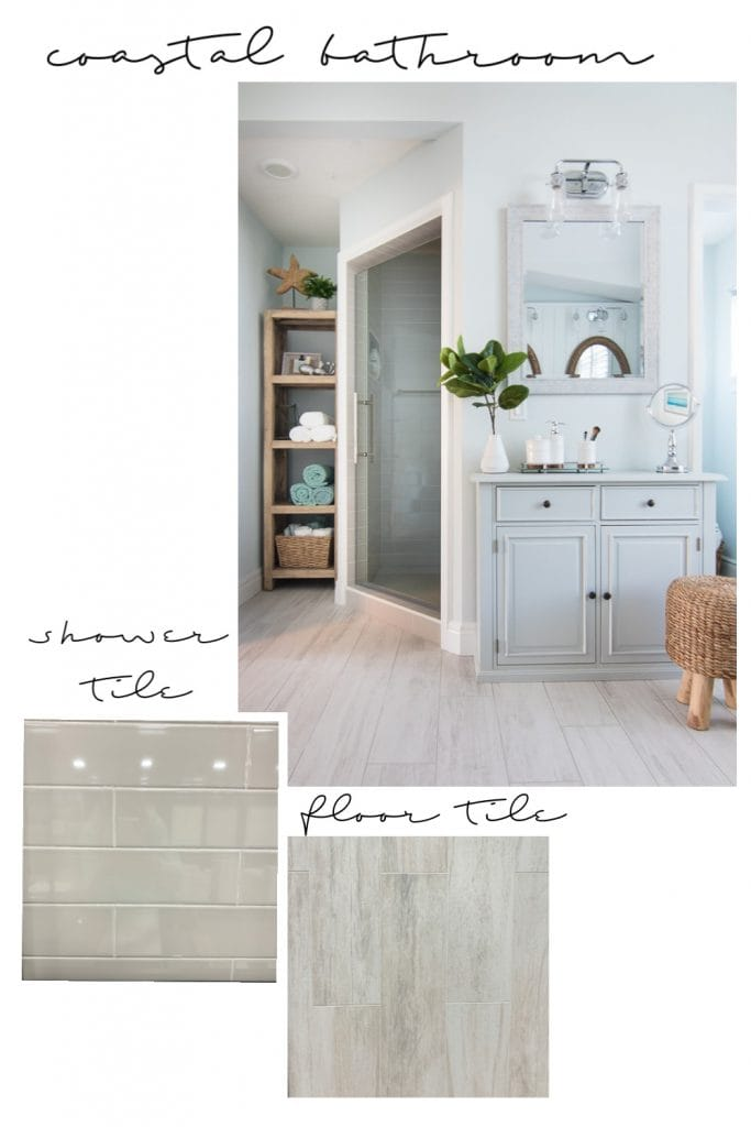 coastal bathroom tile plans