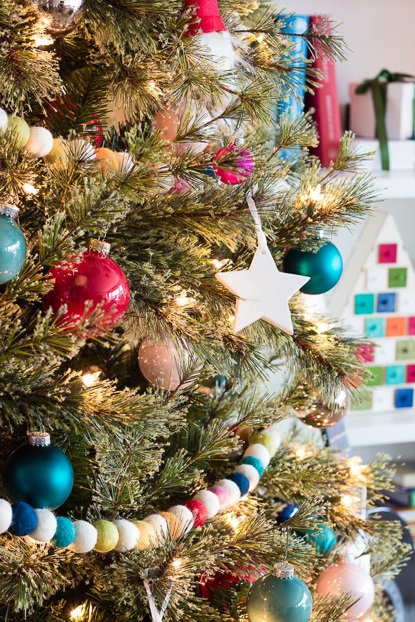 Colorful and Fun Kid's Christmas Tree
