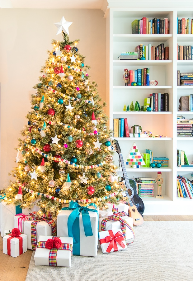 Colorful And Fun Kid Christmas Tree The Lilypad Cottage