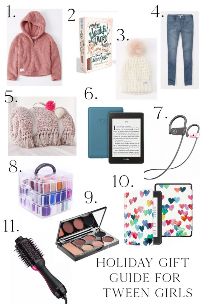 Holiday Gift Guide for the Tween Girl 10-12 years old