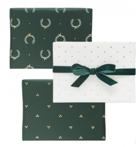 sugar paper wrapping paper from Target