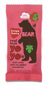 Bear Real Fruit Yo Yos