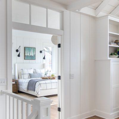 Cozy Winter Master Bedroom