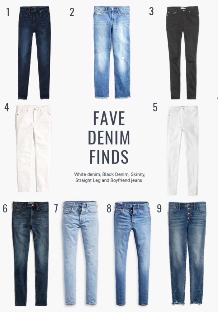 best selection of denim