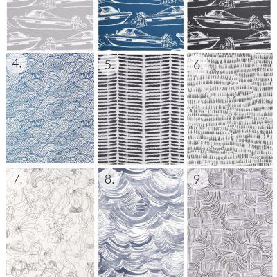 Modern Nautical Inspired Wallpaper Ideas