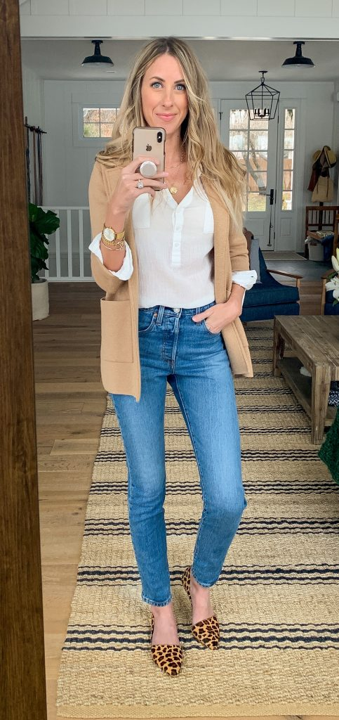 Classic 501 levi jeans outfit